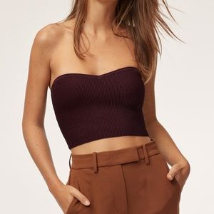 Babaton Olaf Tube Top in Size S